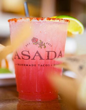 Asada Tacos + Beer
